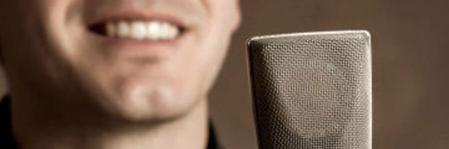 Voice over recordings