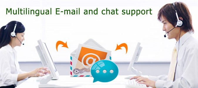 email and chat support outsource2india