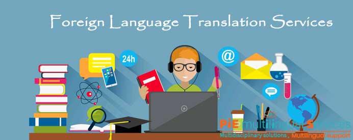 Bilingual translation service company