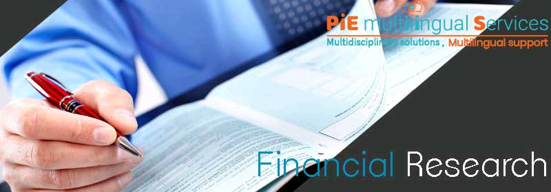 financial research services